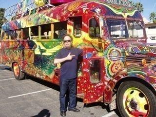 David On The Bus