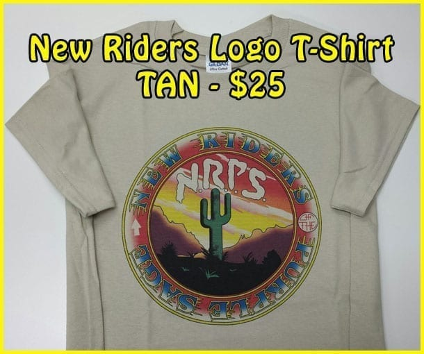 Image Of TAN NRPS Logo T-Shirt