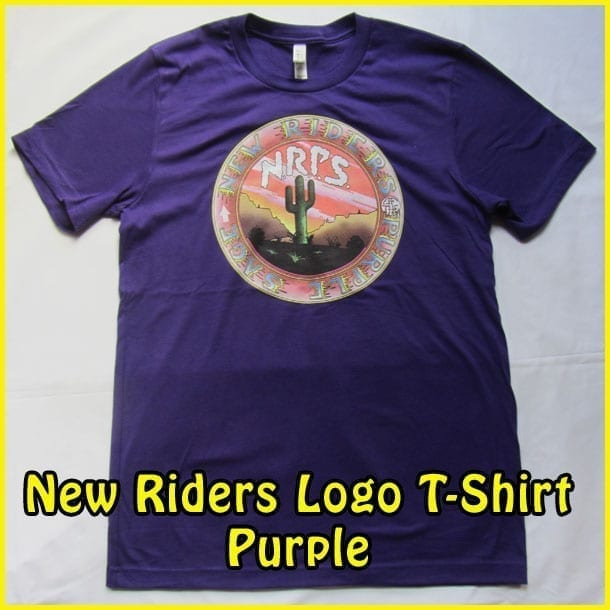 Image Of Purple Color T-Shirt